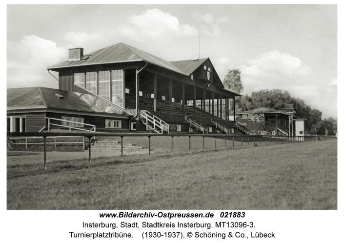 Insterburg, Turnierplatztribüne
