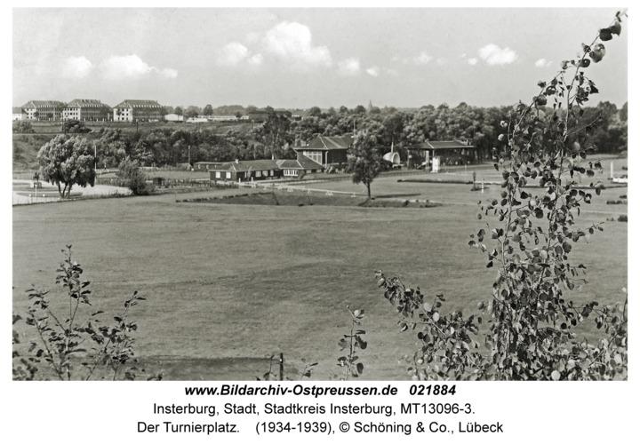 Insterburg, Der Turnierplatz