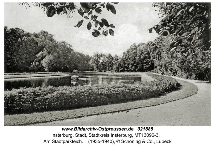 Insterburg, Am Stadtparkteich