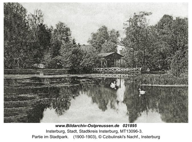 Insterburg, Partie im Stadtpark