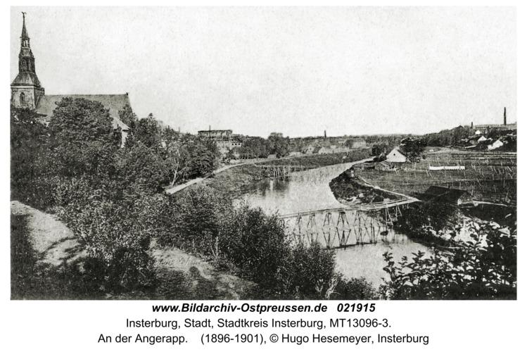 Insterburg, An der Angerapp