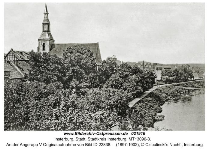 Insterburg, An der Angerapp V Originalaufnahme von Bild ID 22838