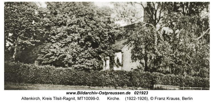 Altenkirch fr. Budwethen, Kirche