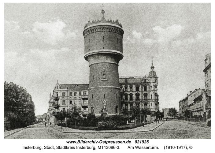 Insterburg, Am Wasserturm