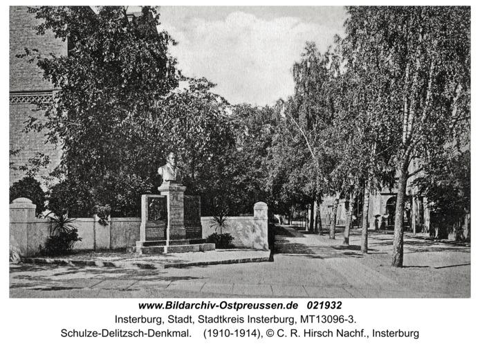 Insterburg, Schulze-Delitzsch-Denkmal