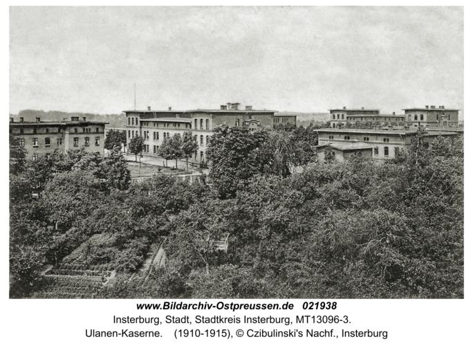 Insterburg, Ulanen-Kaserne