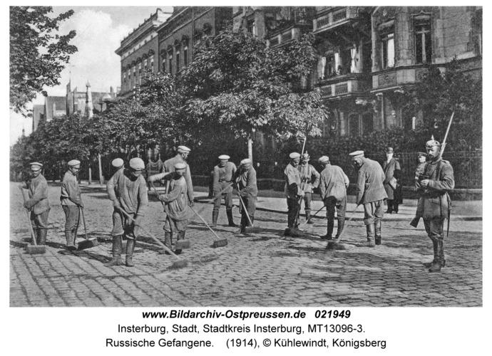 Insterburg, Russische Gefangene