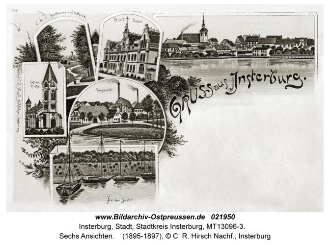 Insterburg, Sechs Ansichten