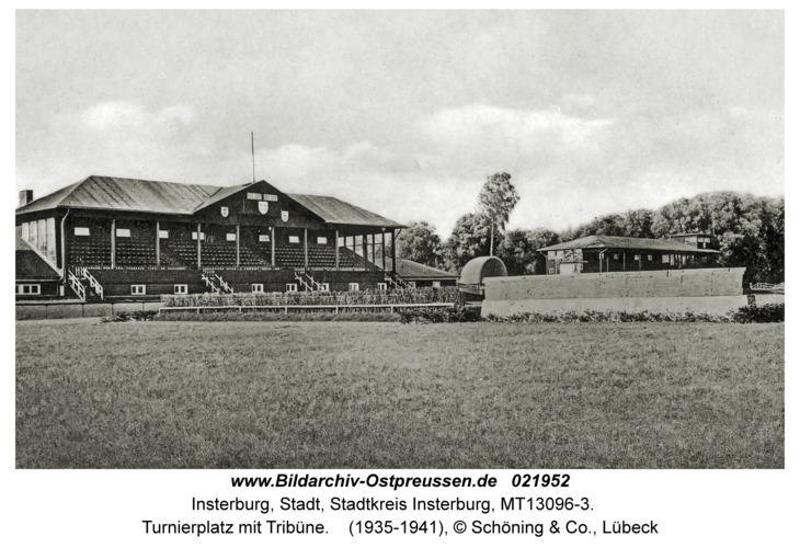 Insterburg, Turnierplatz mit Tribüne