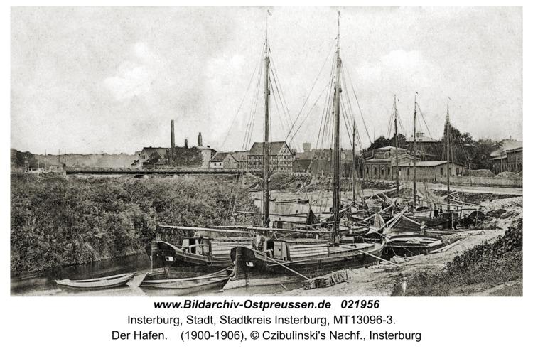 Insterburg, Der Hafen
