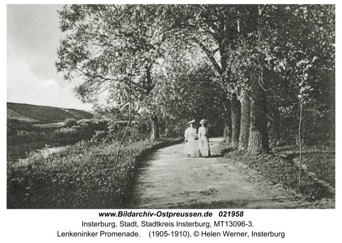 Insterburg, Lenkeninker Promenade