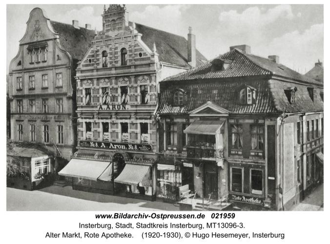 Insterburg, Alter Markt, Rote Apotheke