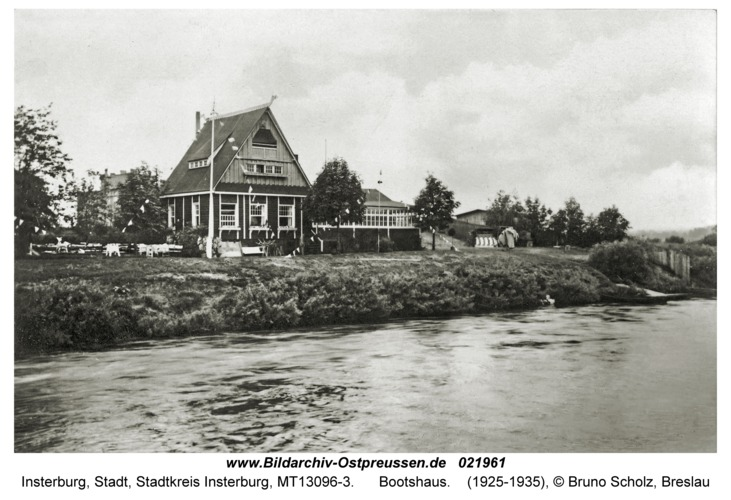 Insterburg, Bootshaus