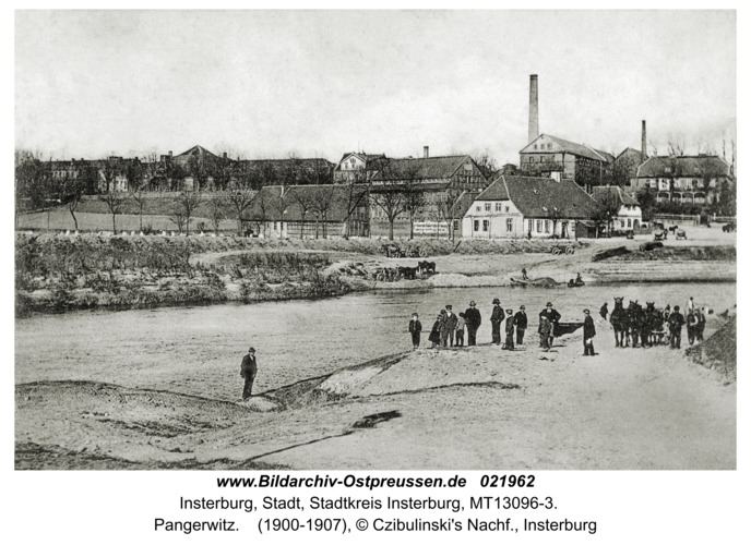 Insterburg, Pangerwitz
