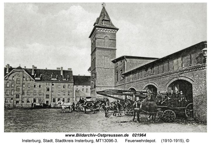 Insterburg, Feuerwehrdepot