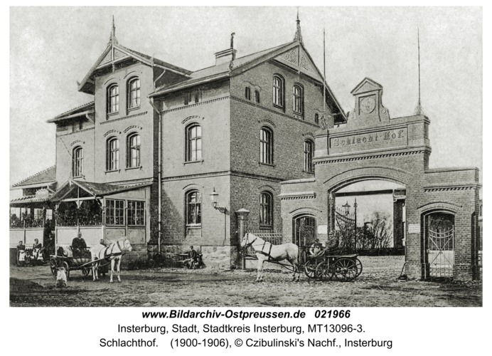 Insterburg, Schlachthof
