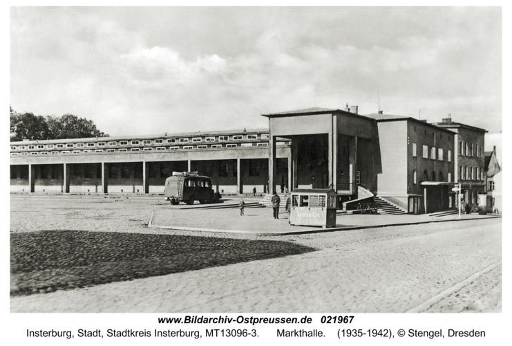 Insterburg, Markthalle