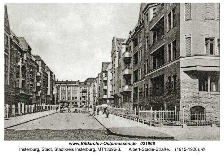 Insterburg, Albert-Stadie-Straße