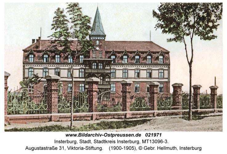 Insterburg, Augustastraße 31, Viktoria-Stiftung