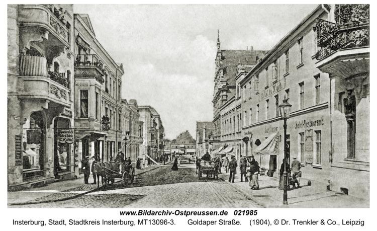 Insterburg, Goldaper Straße