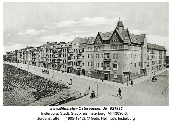 Insterburg, Jordanstraße