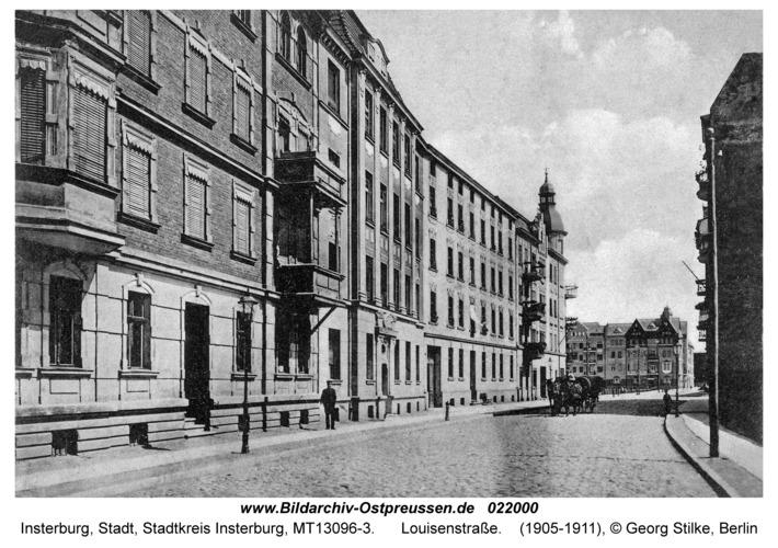 Insterburg, Louisenstraße