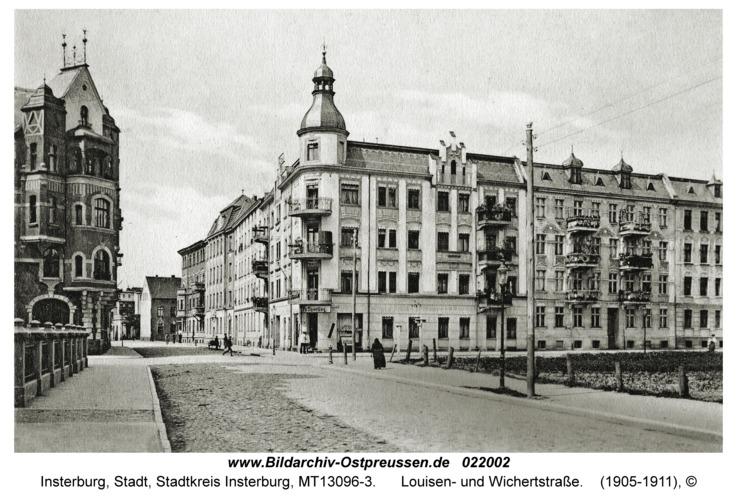 Insterburg, Louisen- und Wichertstraße
