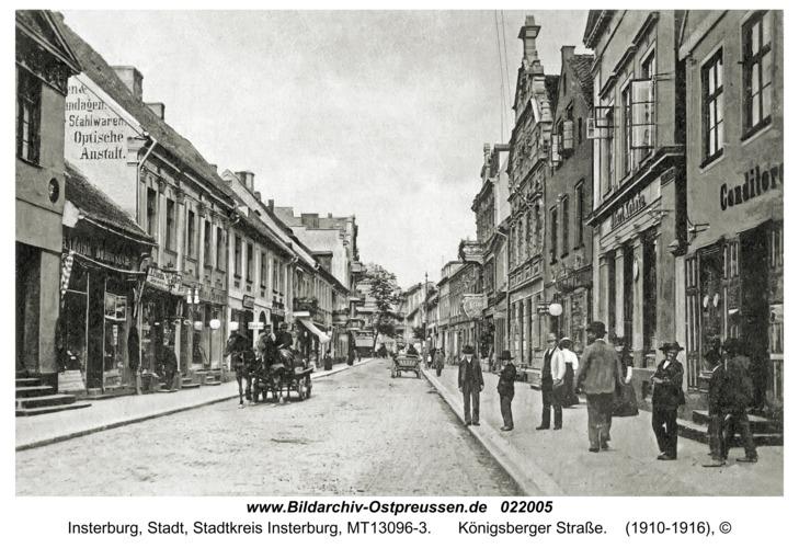 Insterburg, Königsberger Straße
