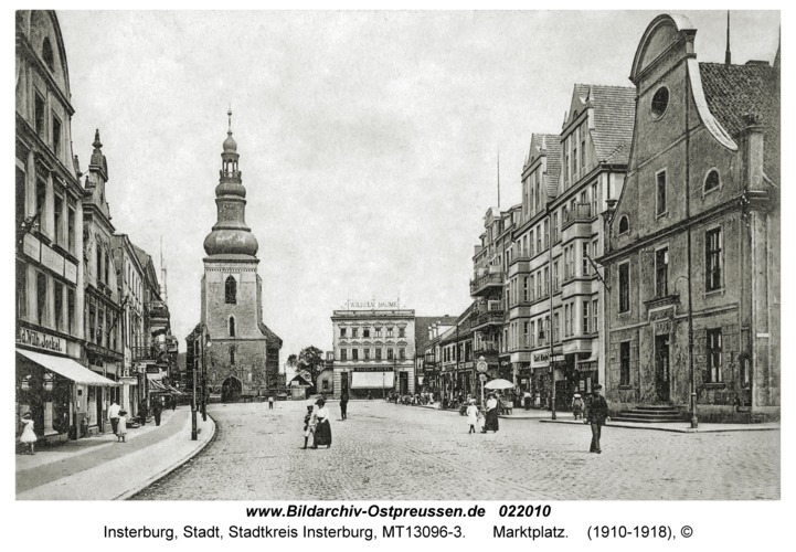 Insterburg, Marktplatz