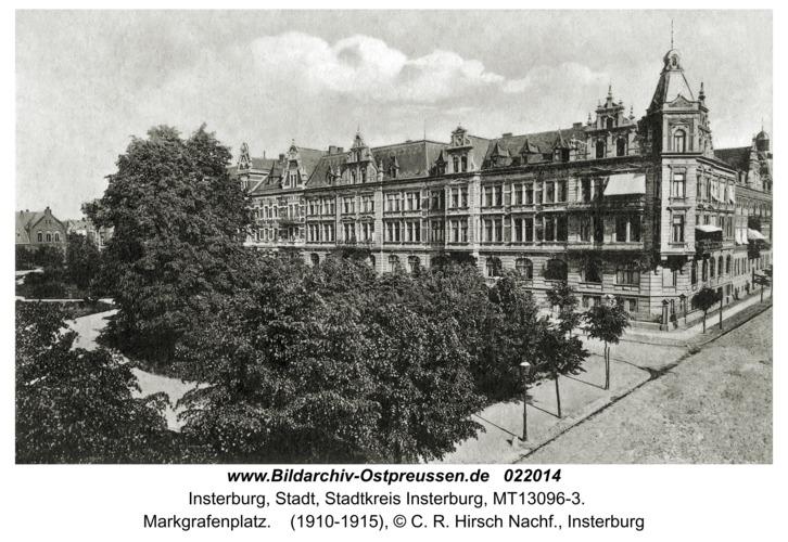 Insterburg, Markgrafenplatz