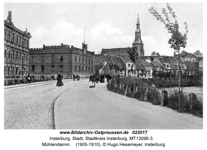 Insterburg, Mühlendamm