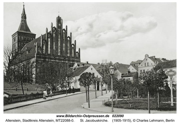 Allenstein, St. Jacobuskirche