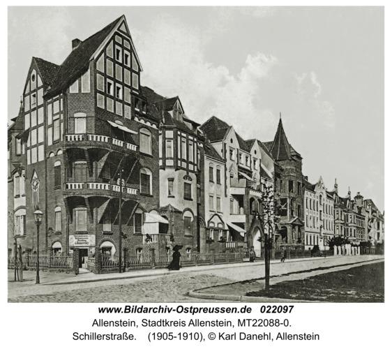 Allenstein, Schillerstraße