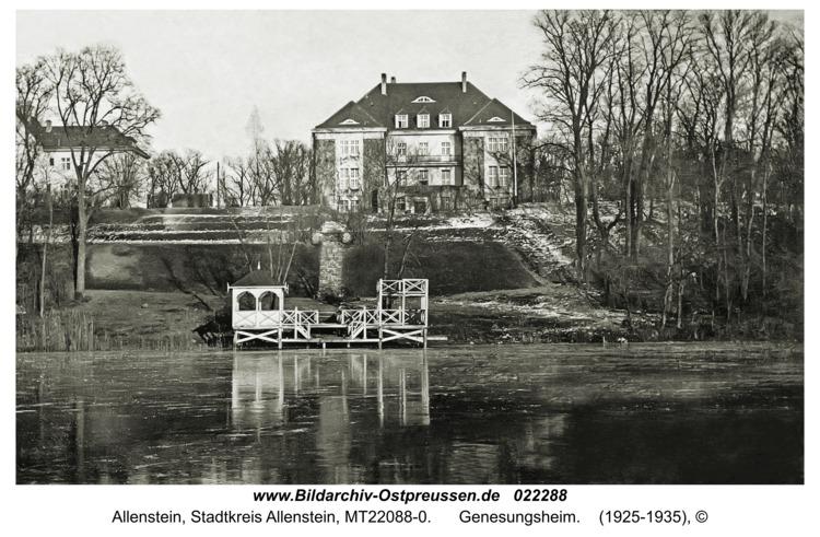 Allenstein, Genesungsheim
