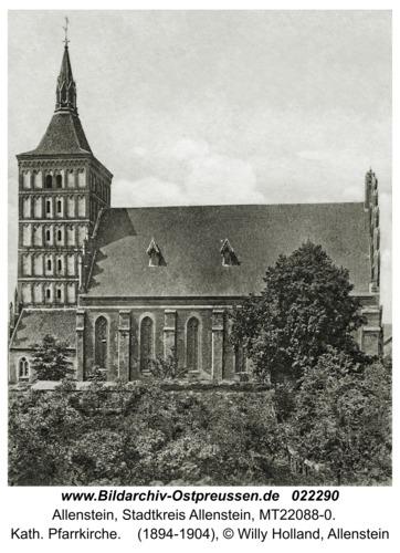 Allenstein, Kath. Pfarrkirche