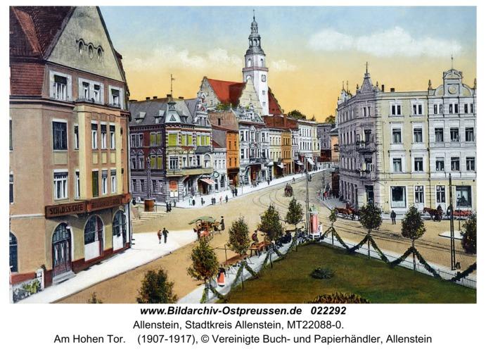 Allenstein, Am Hohen Tor