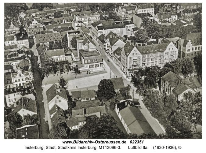 Insterburg, Luftbild IIa