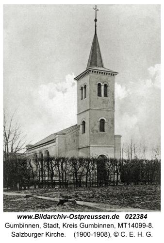 Gumbinnen, Salzburger Kirche