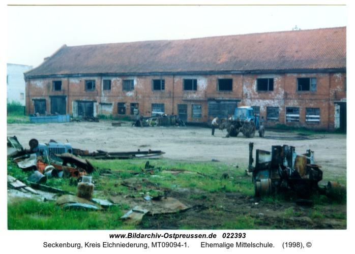 Seckenburg, Ehemalige Mittelschule