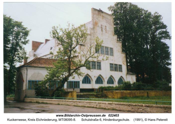 Kuckerneese, Schulstraße 6, Hindenburgschule