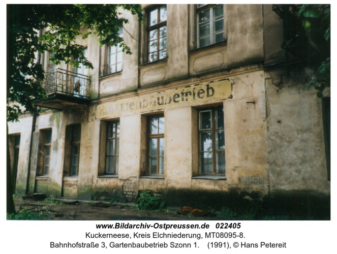 Kuckerneese, Bahnhofstraße 3, Gartenbaubetrieb Szonn 1