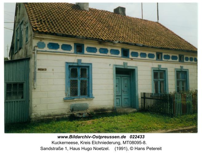 Kuckerneese, Sandstraße 1, Haus Hugo Noetzel