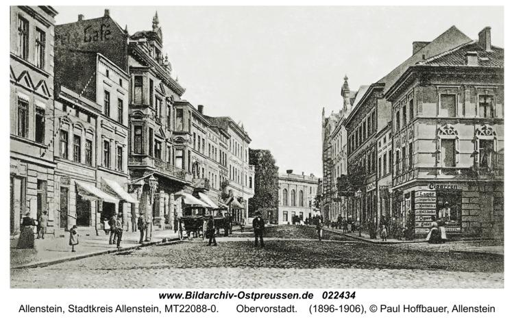 Allenstein, Obervorstadt