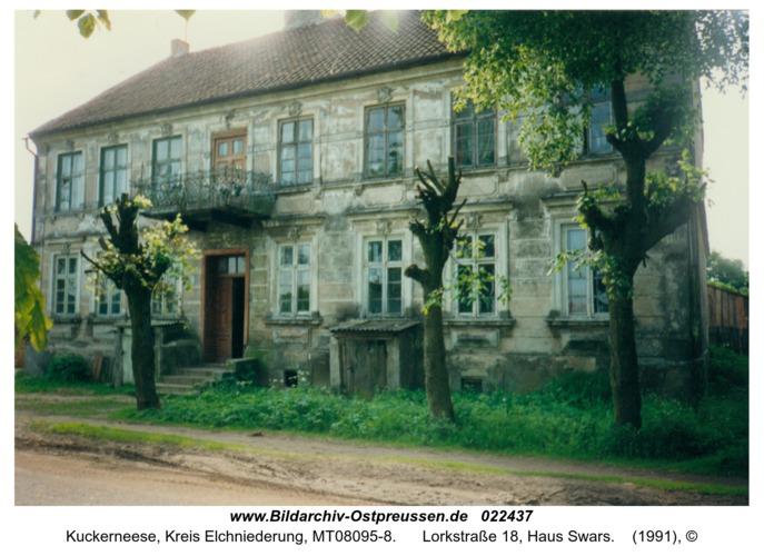 Kuckerneese, Lorkstraße 18, Haus Swars
