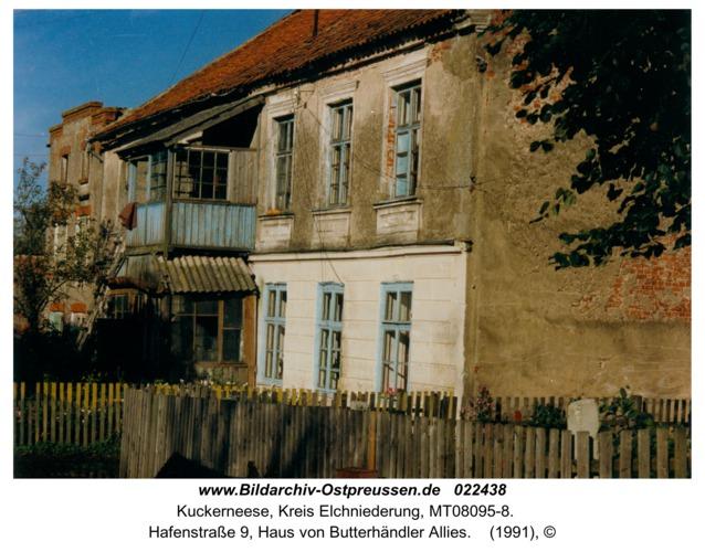 Kuckerneese, Hafenstraße 9, Haus von Butterhändler Allies