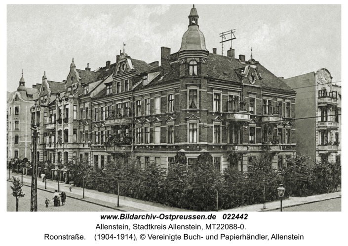 Allenstein, Roonstraße