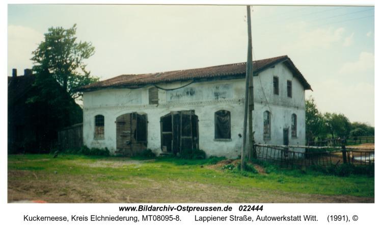 Kuckerneese, Lappiener Straße, Autowerkstatt Witt
