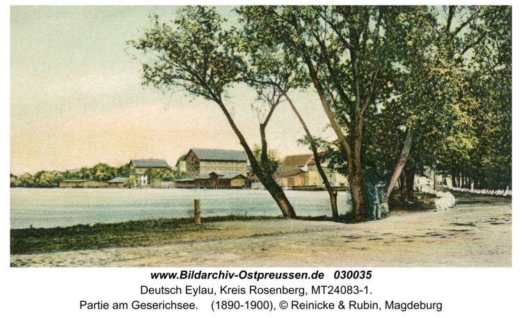 Deutsch Eylau, Partie am Geserichsee