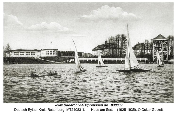 Deutsch Eylau, Haus am See