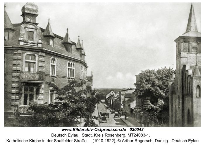 Deutsch Eylau, katholische Kirche in der Saalfelder Straße